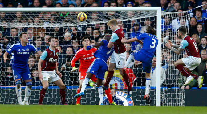 Premiership: Chelsea 1-1 Burnley