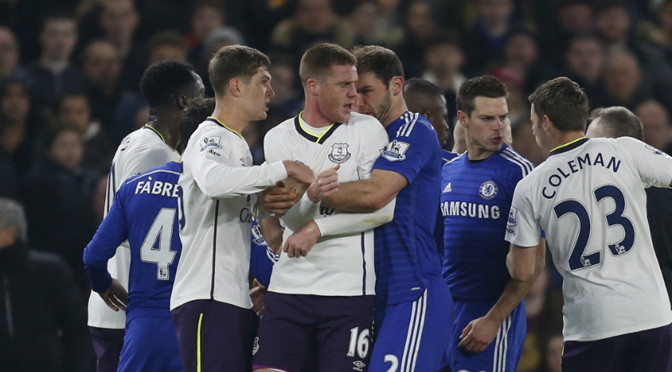 Premiership: Chelsea's Ivanovic escapes punishment after McCarthy clash