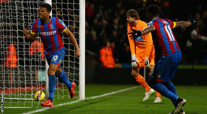 Premiership: Crystal Palace 1-1 Newcastle