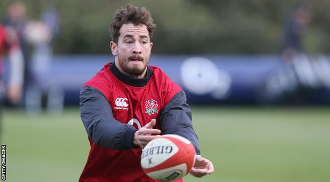 Six Nations: Danny Cipriani & Nick Easter in England squad v Wales