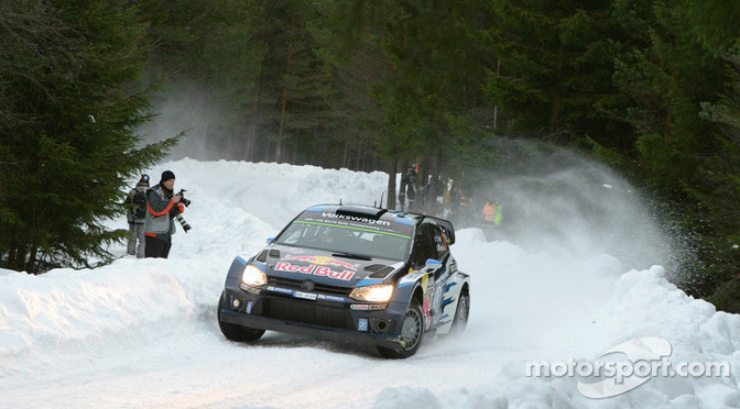 WRC: Tidemand grabs shock lead of Rally Sweden after opening stage