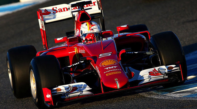 F1: Jerez Test Day 1: Vettel top as McLaren hits early trouble