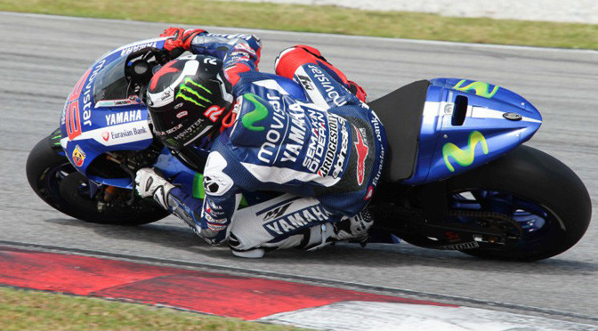MotoGP: Sepang Day 2: Lorenzo on top