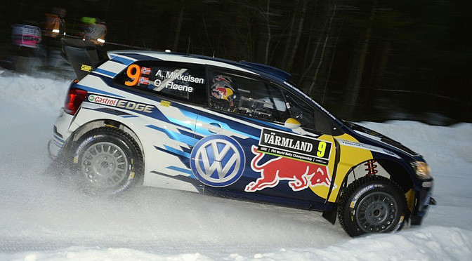 WRC: Mikkelsen takes lead in Sweden after Ogier and Latvala crash
