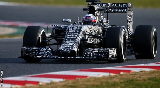 F1: Barcelona Test: Day 2: Red Bull's Daniel Ricciardo edges Kimi Raikkonen