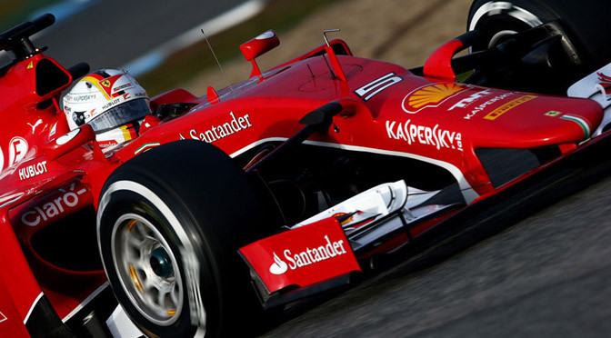 F1: Jerez Test Day 2: Vettel top again as McLaren struggles continue