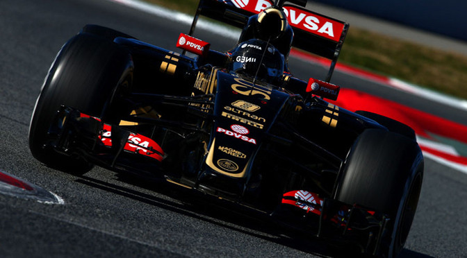 F1: Barcelona Test Day 4: Grosjean fastest as Mercedes starts to show potential