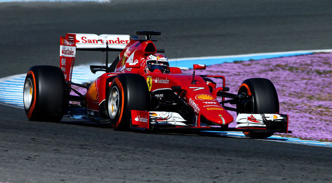 F1: Jerez Test Day 4: Raikkonen top, but slow progress for McLaren