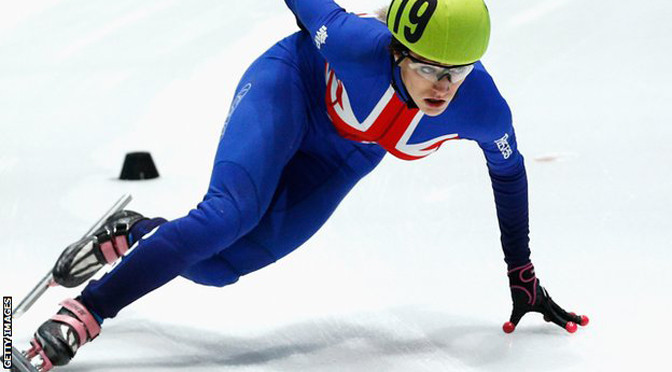 Winter Sports: Elise Christie wins short track speed skating World Cup silver