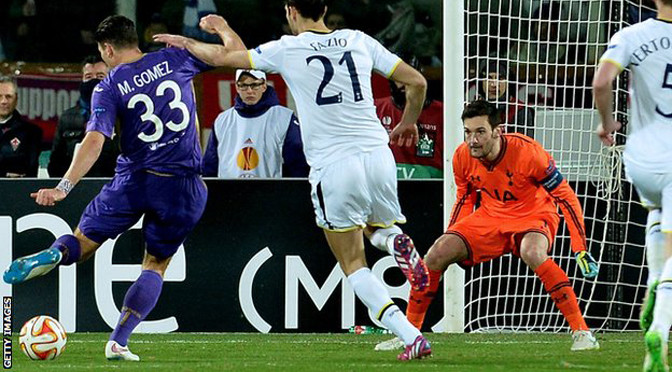 Europa League: Fiorentina 2-0 Spurs