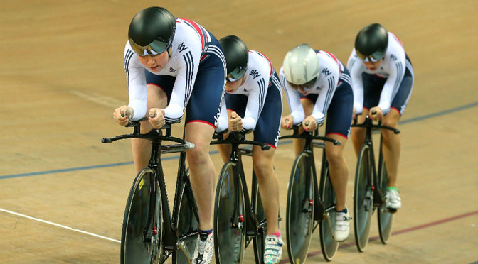 Track World Championships: GB women lose team pursuit title