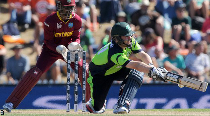 Cricket World Cup: Ireland stun West Indies in Nelson