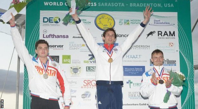 Pentathlon: World Cup double gold for GB as Jamie Cooke wins