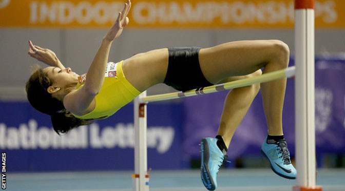 Athletics: Katarina Johnson-Thompson to defend British indoor title