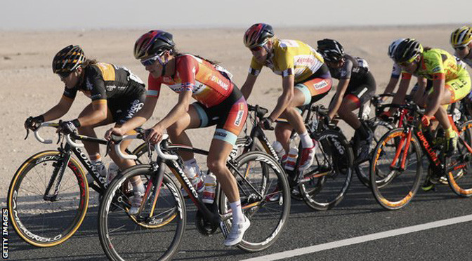 Tour of Qatar: Lizzie Armitstead wins