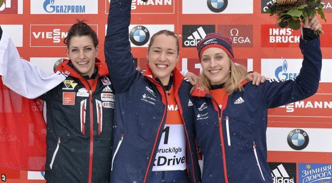 Winter Sports: Lizzy Yarnold crowned European skeleton champion in Austria