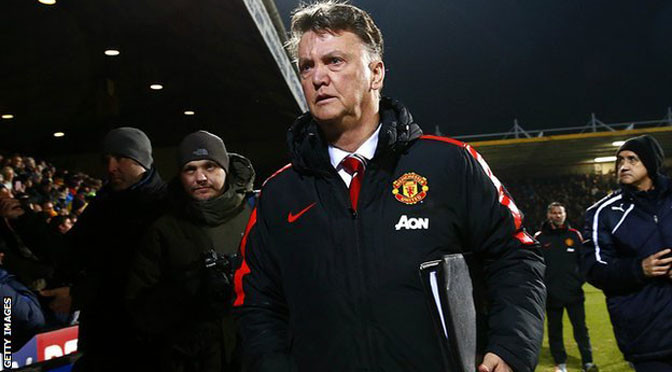 FA Cup: Man Utd manager Louis van Gaal charged by FA over comments