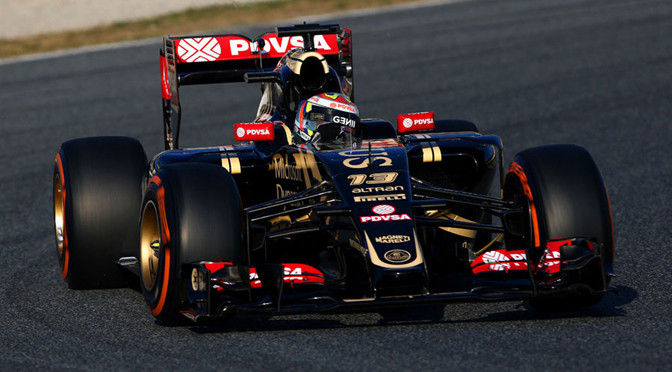 F1: Barcelona Test: Day 1: Maldonado tops eventful first day