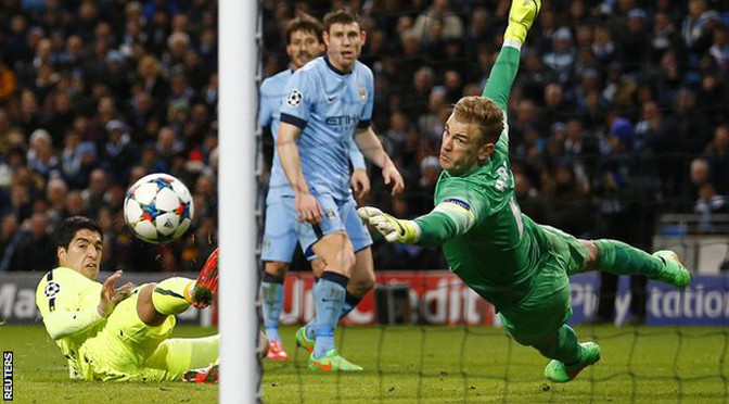 Champions League: Man City 1-2 Barcelona