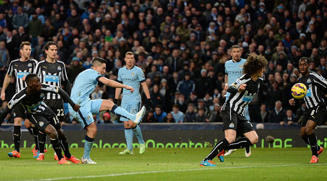 Premiership: Man City 5-0 Newcastle