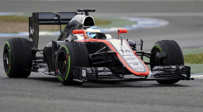 F1: McLaren forced to end 'encouraging' day early