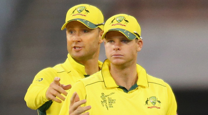 Cricket World Cup: Australia captain Clarke out of England's World Cup opener