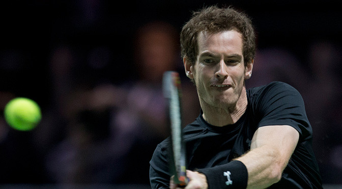 Tennis: Andy Murray beats Vasek Pospisil in Rotterdam second round