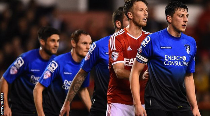 Championship: Notts Forest 2-1 Bournemouth