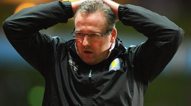 Premiership: Paul Lambert sacked as manager of Aston Villa