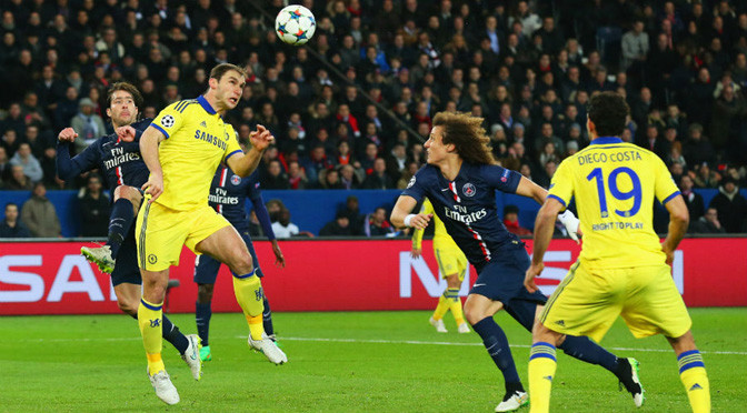 Champions League: PSG 1-1 Chelsea