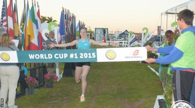 Pentathlon: Samantha Murray clinches World Cup gold in Florida