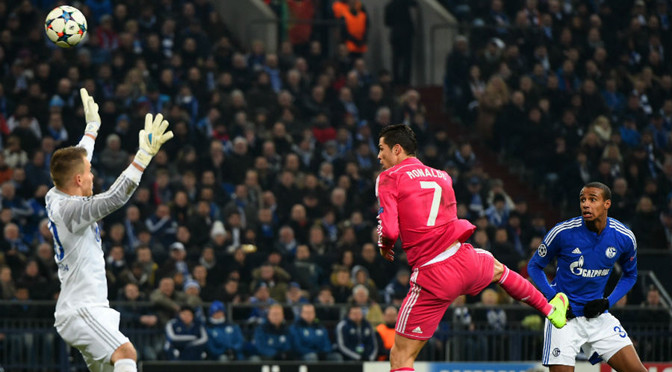 Champions League: Schalke 0-2 Real Madrid