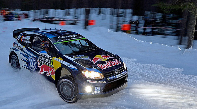 WRC: Ogier wins Rally Sweden as Mikkelsen spins on powerstage