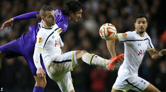 Europa League: Spurs 1-1 Fiorentina