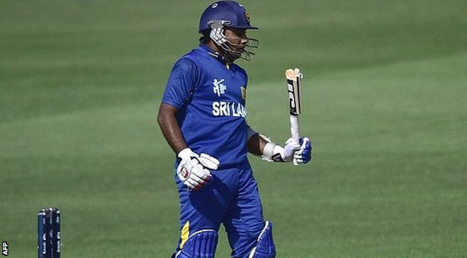 Cricket World Cup: Sri Lanka beat Afghanistan to avoid shock