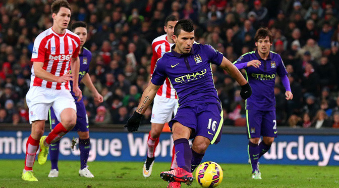 Premiership: Stoke 1-4 Man City