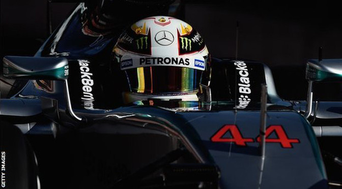 F1: Barcelona Test 2, Day 3: Lewis Hamilton top for Mercedes