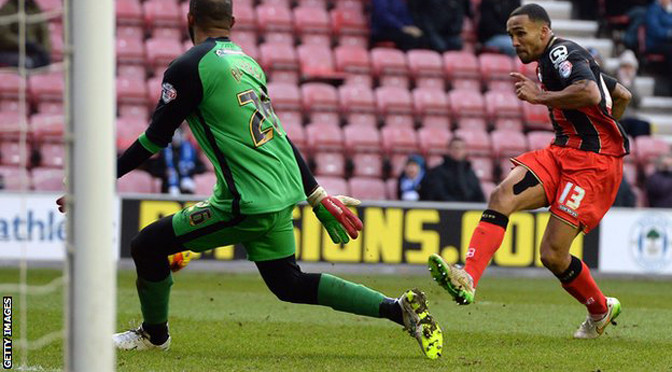 Championship: Wigan 1-3 Bournemouth