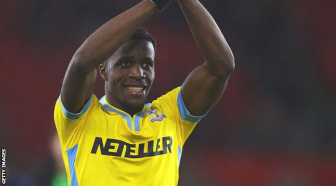Premiership: Wilfried Zaha 'glad to be back permanently' at Crystal Palace