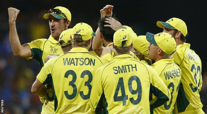 Cricket World Cup: Australia beat India to reach final