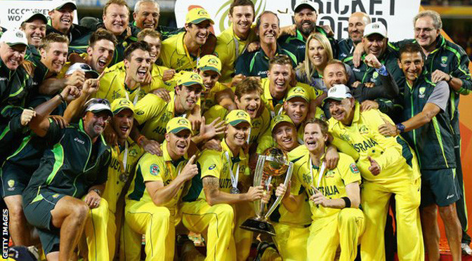 Cricket World Cup: Australia crush New Zealand in final