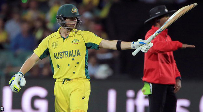 Cricket World Cup: Australia beat Pakistan to reach semi-finals