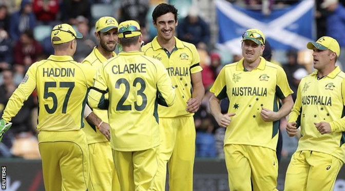 Cricket World Cup: Australia thrash Scotland in last group game