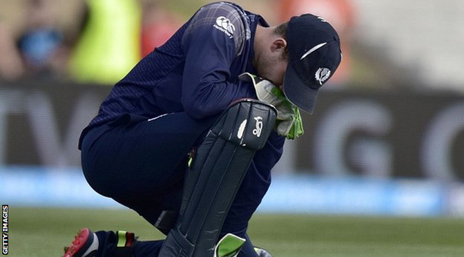 Cricket World Cup: Scotland's Cricket hopes ended by Bangladesh