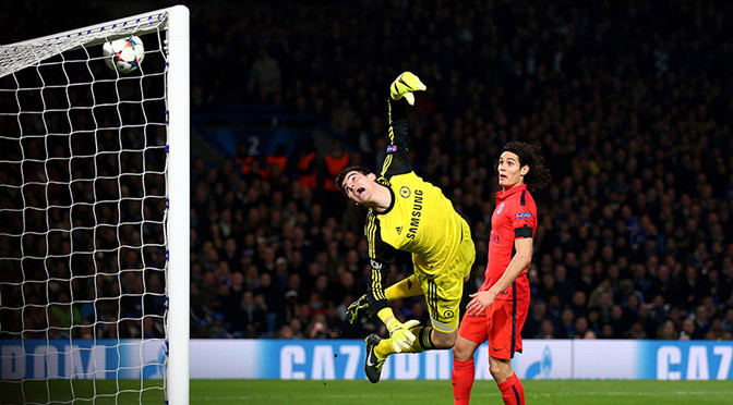 Champions League: Chelsea 2-2 PSG (PSG win on away goals)
