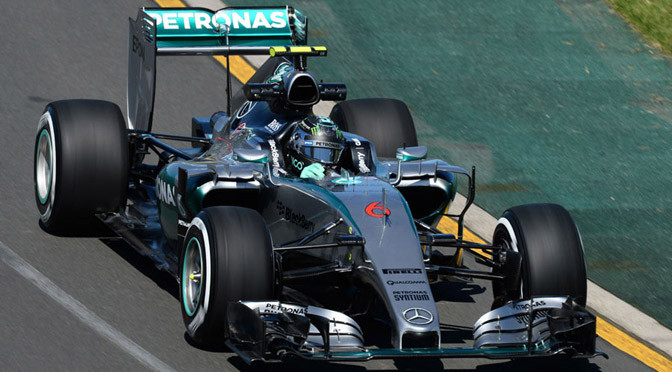 F1: Free Practice 1: Mercedes dominates open practice session