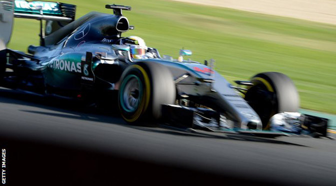 F1: Free Practice 3: Hamilton fastest in final practice