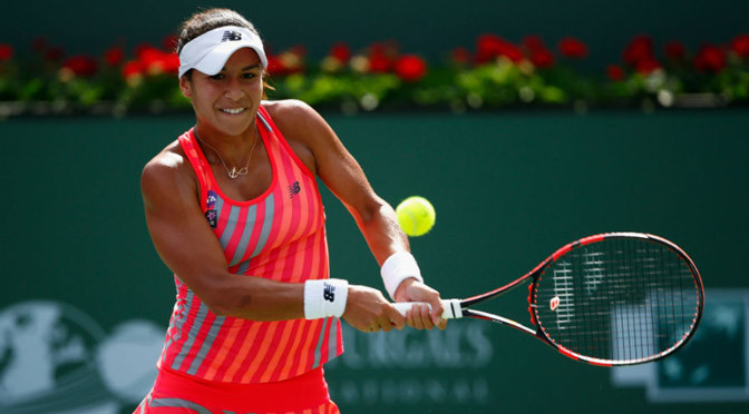 Indian Wells: Watson downs Radwanska to claim biggest win
