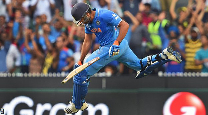 Cricket World Cup: India beat Bangladesh to reach semi-finals