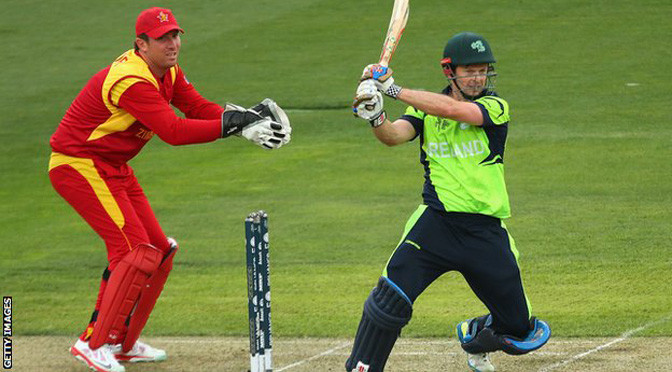 Cricket World Cup: Ireland deny Zimbabwe in thriller